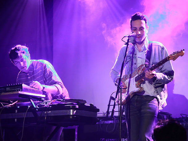 South by Southwest Music and Media Conference | The band's name says it all: warm, globally informed dance pop built on textured synths and pulsing rhythms. Consider it a good use of all…