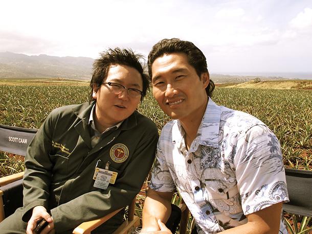 Masi Oka and Daniel Dae Kim