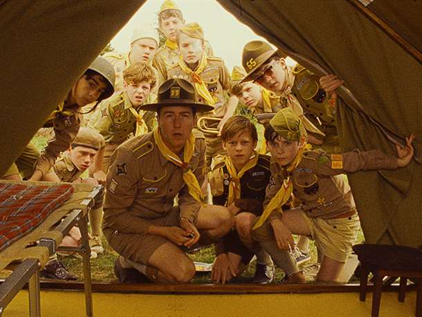 Moonrise Kingdom | Should you ever score a role in a Wes Anderson movie, don't forget to pack your canteen. ''Doing a movie with Wes is a lot…