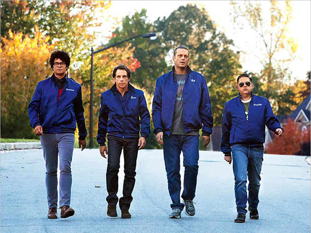Ben Stiller, Jonah Hill, ... | It's got all the elements of a great summer comedy: Ben Stiller. Vince Vaughn. Jonah Hill (all pictured, with Richard Ayoade, far left). Plus a…