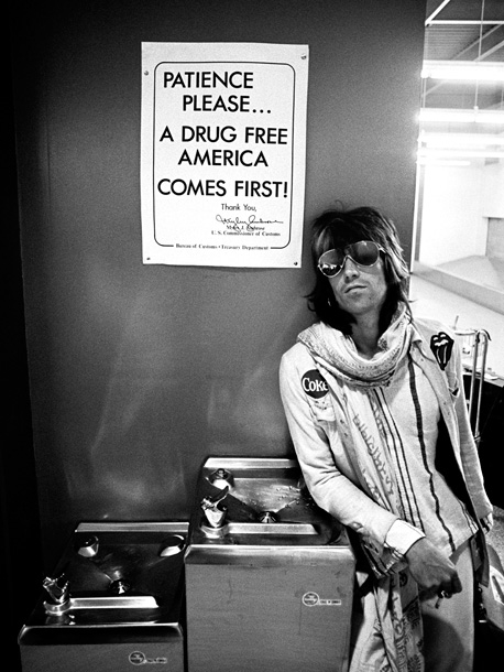 Keith Richards, The Rolling Stones | Ethan Russell: ''I tended not to tell people what to do, ever. This is one of my few, what I call 'made' pictures. We were…