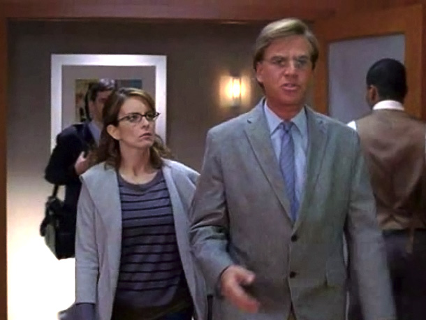 Because everything worth saying is worth saying in motion. Sorkin hilariously parodied his love of walk-and-talk dialogue on 30 Rock — so, yes, he knows…