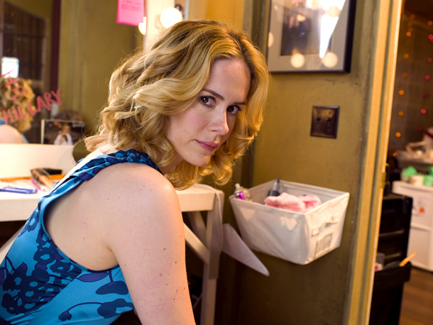 Sarah Paulson's character on Studio 60 had two key character traits: She was incredibly funny, and she was Christian. Regarding the former: No. Regarding the…