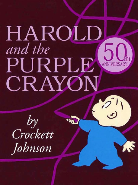 In this gentle yet curiously powerful adventure, little Harold — armed with nothing save a chunky purple crayon — lets his imagination run free and…