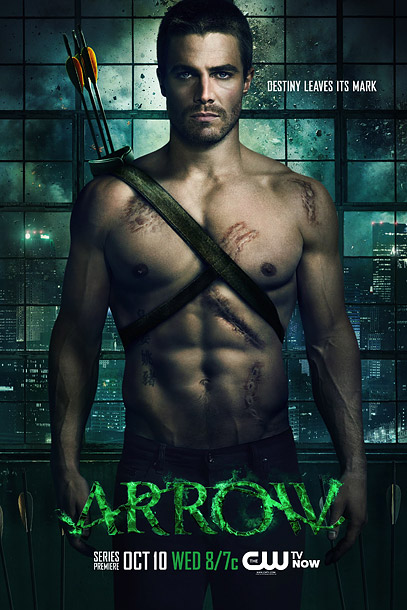 Nobody's hiding this torso! Here's a brooding and scarred Stephen Amell and his six-pack. This is a hilariously effective ad that's shamelessly pandering and takes…