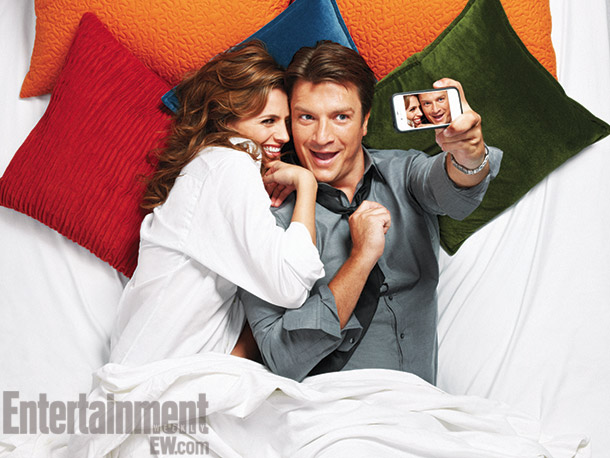 Stana Katic, Nathan Fillion, ... | For more photos and buzz on 104 shows, get the EW Fall TV Preview issue .