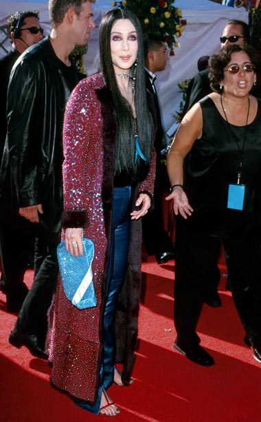 Cher | I wonder if Cher would turn back time on this look? Nominated for her HBO special Cher: Live in Concert from Las Vegas , the…