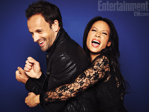 Lucy Liu, Jonny Lee Miller | For more photos and buzz on 104 shows, get the EW Fall TV Preview issue .
