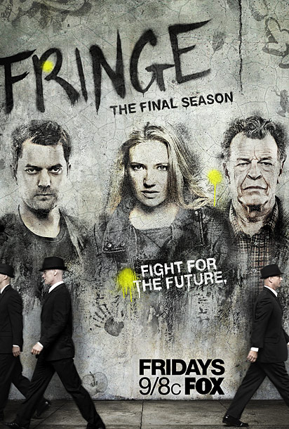 Whew! What a relief. Last year, readers ripped us for the bad grade for Fringe (that poster was stale, it just was). This season's rebel…