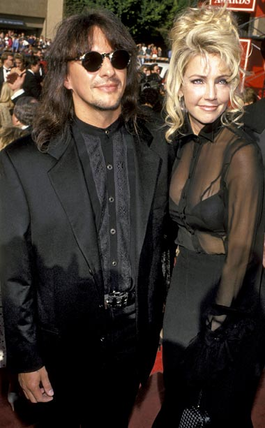 Heather Locklear | These two looked like they jumped straight out of an '80s music video! Unfortunately, it was 1994.