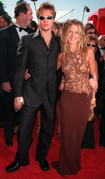 """Brad Pitt, Jennifer Aniston 
