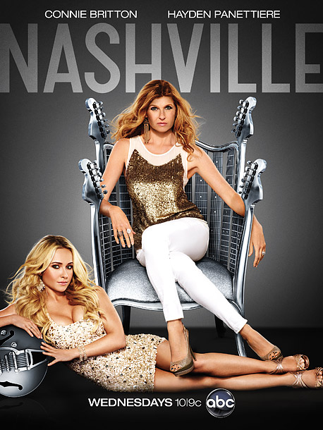 I'm all over the place on this. Connie Britton is the queen of country music on The Chrome Throne (perhaps a better tagline would be:…