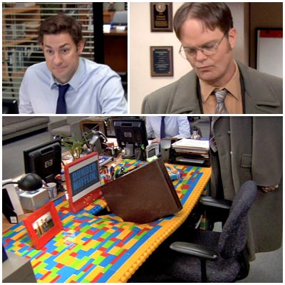 The Office | ''Pool Party'' (season 8, episode 12) In this cold open, Stanley doesn't laugh at all when Jim replaces Dwight's desk with one made of Legos,…