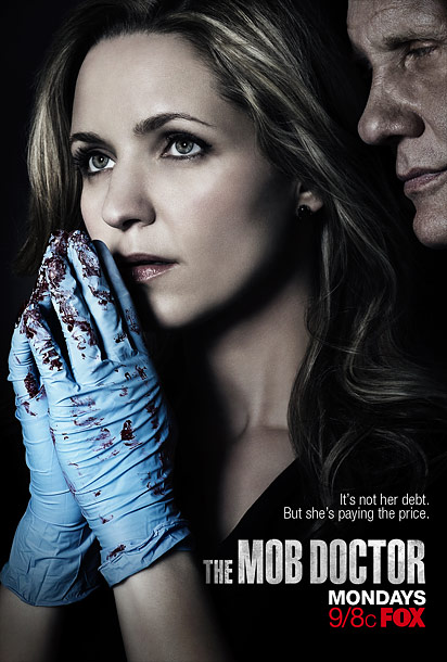 Ugh, Jordana Spiro is putting those bloody gory gloves right next to her face. I liked this ad a bit better after I got it…
