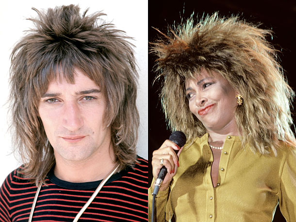 Rod Stewart, Tina Turner | ''In the old kung fu movies everyone has the long braid, you nahmean? But I have clans in the movie with animal styles, and I…