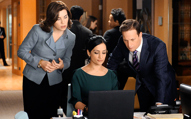 Even with the frustrating Kalinda's-husband subplot (we're irritated because we care!), this is network drama's best show, with the best use of guest stars.