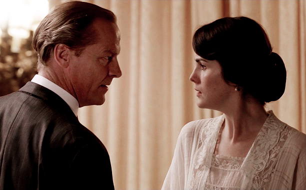 Lady Mary (Michelle Dockery) aligned herself with Sir Richard Carlisle (Ian Glein) on Downton Abbey when she found out that cousin Matthew (Dan Stevens) was…