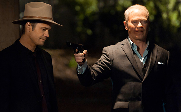 The most hardboiled season yet, with an out-of-town hit-man giving Raylan his most formidable villain. Read Ken's review of the season 3 premiere.