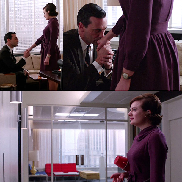And speaking Mad Men we're glad that Peggy (Elisabeth Moss) stepped out from underneath Don's (Jon Hamm) shadow and took a new job, leaving Sterling…