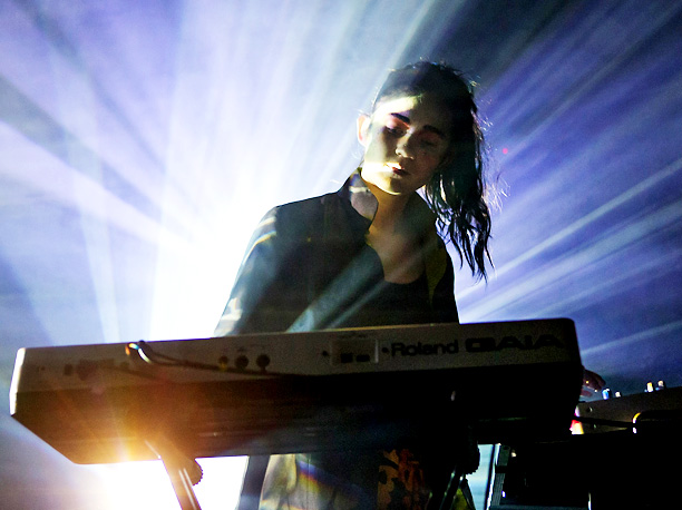 ''I'm late to the Grimes party, but I saw a video she did [for her song ''Genesis''] that was haunting. When I found out that…