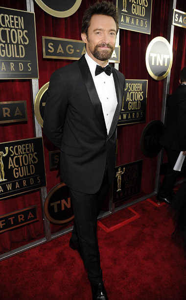 Style, Style: Red Carpet, ... | I dreamed a dream that Hugh Jackman had shaved off that horrible goatee after the Golden Globes, but he killed the dream I dreamed when…