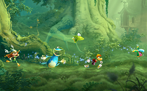 Building on the beautiful Rayman Origins and equally eye-pleasing Rayman Jungle Run this Wii U platformer tasks up to five co-op players with navigating a…