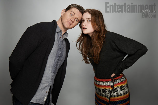 Allen Leech and Alice Englert, In Fear