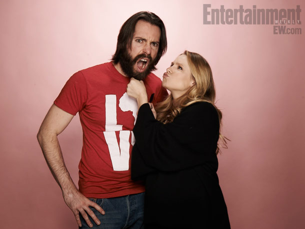 Martin Starr and Kristen Bell, The Lifeguard
