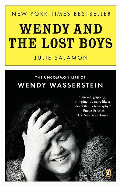 ''Right now, I'm reading Wendy and the Lost Boys , the Wendy Wasserstein biography. She was one of the first adult writers I ever read.…