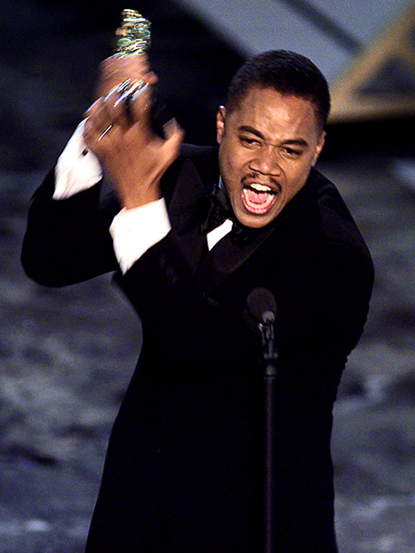Cuba Gooding Jr. | ''You can cut away. I won't be mad at you.''—Best Supporting Actor in Jerry Maguire before jumping around the stage Watch here