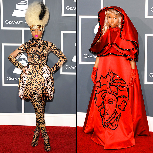Sorry Nicki, but Bootsy does jungle cat fashion better than anyone. Just ask Mary J. Blige . Still, when it comes to red satin designer…