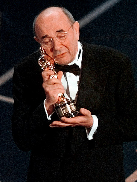 Stanley Donen | ''Tonight, words seem inadequate. In musicals, that's when we could do a song. So... Heaven, I'm in Heaven ...''—Honorary Oscar, as he launched into song…