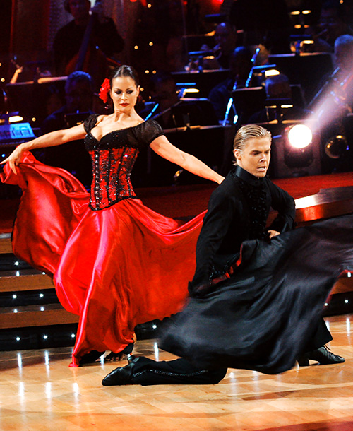 Dancing With the Stars   Hard to believe, but Derek first appeared in season 4 as a guest instructor for Apolo and his younger sister Julianne. The choreography king and…