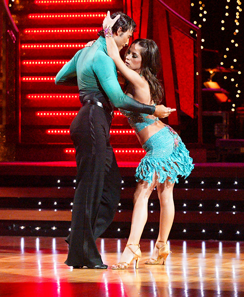 Dancing With the Stars   After winning the first season with Kelly Monaco (and valiantly holding up an errant strap on her costume), the handsome, quiet Russian — and Edyta's…
