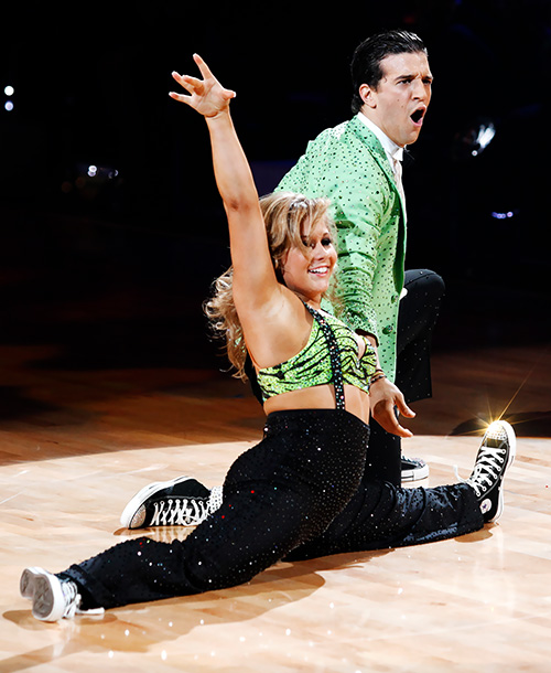 Dancing With the Stars   The two-time winner (with Shawn Johnson, shown, and Kristi Yamaguchi) mathematically deserves to be in a Top 10, but his tendency to overdo it facially…