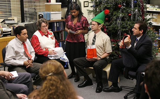The Office | Season 2, episode 10 Aired: Dec. 6, 2005 The Office always did Christmas well (Benihana celebration, anyone?), but the game of Yankee Swap in season…