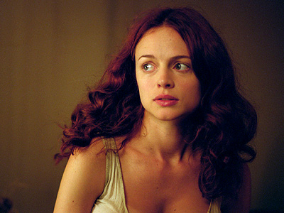 Heather Graham, From Hell | Is Graham's strangely robust Whitechapel prostitute supposed to be cockney? Irish? Dick van Dyke-ese? Whatever she's going for, it ain't good. — Hillary Busis
