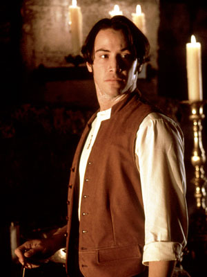 Keanu Reeves, Bram Stoker's Dracula | Whoa, Keanu . After mangling a British accent in Francis Ford Coppola's Dracula redux, you chose to give it another try in 1993's Much Ado…