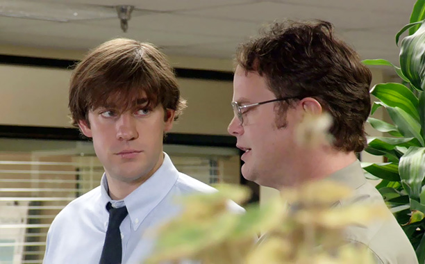 The Office | Season 1, episode 4 Aired: April 12, 2005 This episode expanded and explored two relationships that would remain constant over nine seasons: Dwight and Jim's…