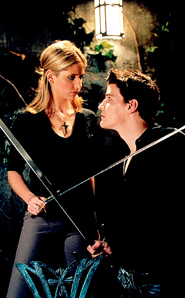 David Boreanaz, Sarah Michelle Gellar, ... | Whether you're back from college or chilling at home, these are shows to lose yourself in. Buffy the Vampire Slayer (shown) Before Joss Whedon assembled…
