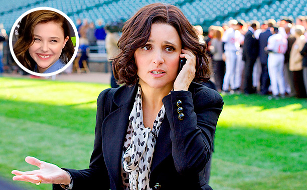 Chloe Grace Moretz, Veep, ... | ''I binge-watched Veep . Julia Louis-Dreyfus is brilliant. Veep is brilliant and fast, and it totally reminds me of 30 Rock , with the speed…