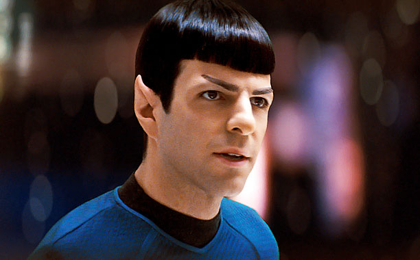 Zachary Quinto, Star Trek | Played by: Zachary Quinto Film: J.J. Abrams' Star Trek series (2009-present) Spock may be without emotions, but that doesn't mean we aren't a little hot-and-bothered…