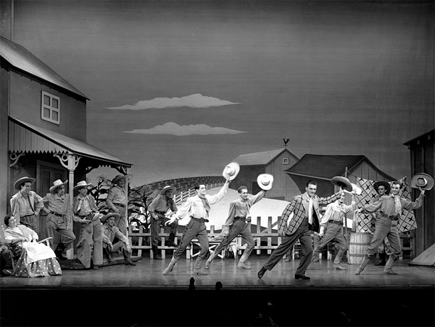 Music by Richard Rodgers Lyrics & Book by Oscar Hammerstein II Rodgers & Hammerstein's unlikely hit ushered in a golden age of American musicals, boosted…