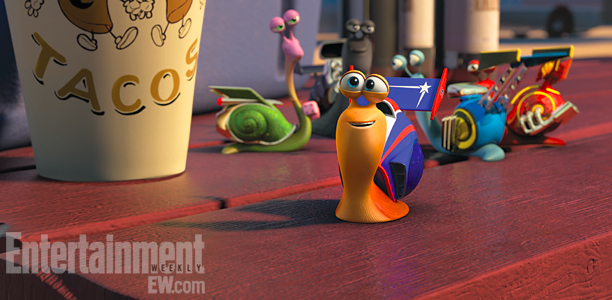 Turbo | When Turbo meets up with a crew of racing snails, he fits right in.