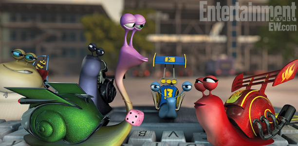 Turbo | This crew of racers is a tightnit group, but once Turbo joins their ranks they rally around him.