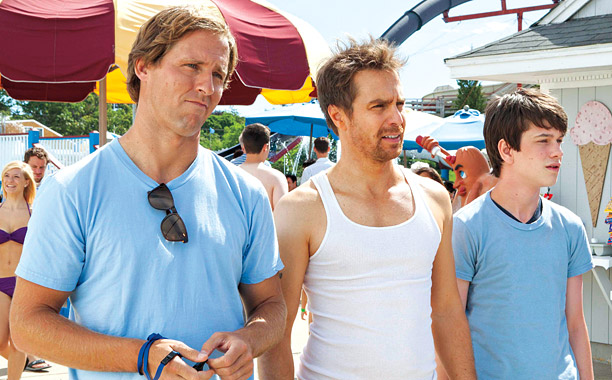 'WAY BACK' PLAYBACK Nat Faxon, Sam Rockwell, and Liam James are among the many faces in this stellar film
