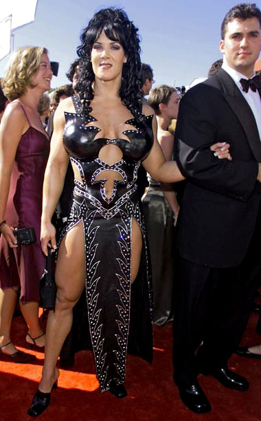 Style, Style: Red Carpet, ... | Though Chyna Doll's studded leather, um, lattice dress looked like something straight out of the Xena: Warrior Princess clothing collection, it did allow the pro…