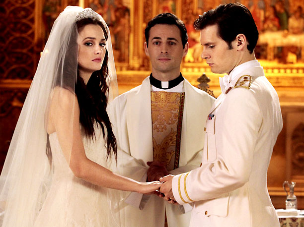 Gossip Girl | XOXO, Georgina? The posh CW drama's 100th episode was one of its most shocking. Blair (Leighton Meester) walked down the aisle with her royal fiancé…