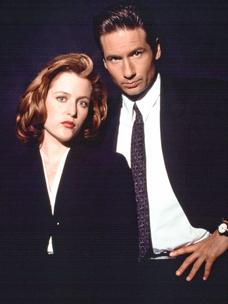The X-Files (1993-2002) Gillian Anderson and David Duchovny