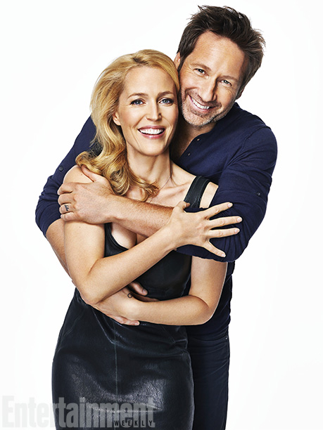 The X-Files (2013) Gillian Anderson and David Duchovny